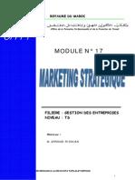 Ofppt Marketing Strategique OFPPT