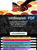 Antibiograma. Fergie