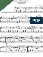 Chopin Valse de L'Adieu