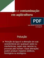 Poluição e contaminação em aqüicultura