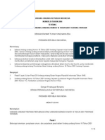 UU No. 28 Tahun 2004 tentang Yayasan
