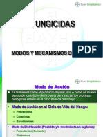 Modos y Mecanismos de Acción Fungicidas