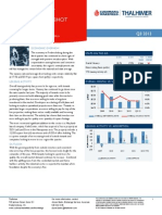 Fredericksburg AMERICAS Alliance MarketBeat Industrial Q32013