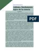 Julio Muñoz. El esencialismo, fundamento ideológico de la ciencia.pdf