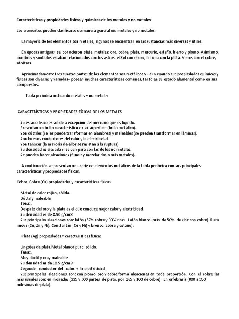 Caractersticas y propiedades fsicas y qumicas de los metales y no 1534202715v1 urtaz Images