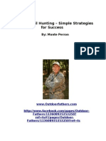 Whitetail Hunting Simple Strategies for Success Scribd
