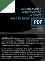 ALCANZANDO Y MANTENIENDO LA GENTE para la iglesiaq.pptx