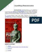 Mord Von Karl Liebknecht Und Rosa Luxemburg