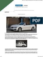 Une BMW Série 4 coupé et cabriolet