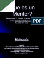 Ques es un mentor - Para presentacion.ppt