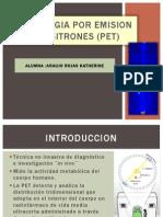 Tomogragia Por Emision de Positrones (Pet)