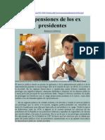 Arnaldo Córdova. Las pensiones de los ex presidentes de México.pdf