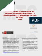 Informe Anual de Evaluacion Prueba de Extracto 2012