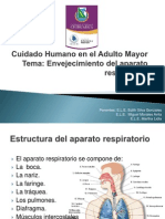 Cuidado Humano en El Adulto Mayor (Respiratorio)