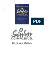 O SENHOR DO IMPOSSÍVEL - Lloyd John Ogilvie