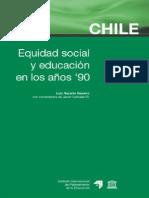 116977692 Luis Navarro Chile Equidad Social y Educacion en Los Anos 90