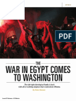 The War in Egypt comes to Washignton - Peter Beinart, Newsweek - 10 July 2013.pdf