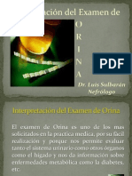 Interpretacion Del Examen de Orina