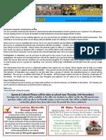 Newsletter 31.10.13