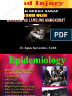 HEAD INJURY (Trauma Kepala) dr.Agus.ppt