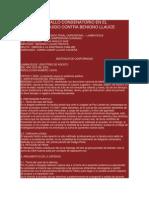 Reserva de Fallo Condenatorio en El Proceso Seguido Contra Benigno Llauce Piscoya