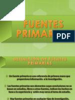 Fuentes Primarias