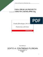 Instrucciones Para Crear Un Proyecto Desde Cero en Jdeveloper 10g