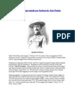 Sejarah Kepramukaan Indonesia Dan Dunia