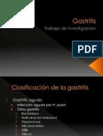 Gastritis...