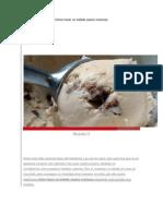 Cómo hacer un helado casero cremoso