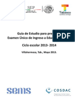 Guia Tematica EUI 2013