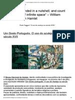 O uso do azulejo no século XVII _ O Universo Numa Casca de Noz