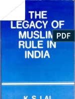 The Legacy of Muslim Rule in India