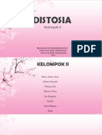 PPT Distosia