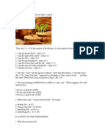 The Bread of Life Bible Study
