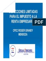Deducciones Limitadas - Roger Grandy