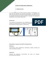 Sensores de Monitoreo Ambiental