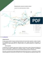 Promedio Anuales de Diferentes Parametros en El Agua de La Ciudad de Cuenca