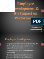 Employee Development & it's Impact on Performance