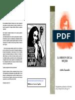 Adela Zamudio-la Mision de La Mujer