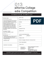 CCMA Contest Form-2013