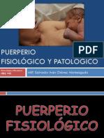 Puerperio fisiológico y patológico