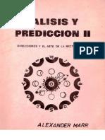 Análisis y Predicción II - Alexander Marr