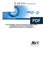 3GPP Multiplexing and channel coding FDD