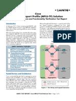 Eantc Cisco Mpls Tp Report v1.1