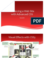 Enhancing a Web Site with Advanced CSS