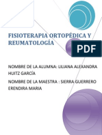 FISIOTERAPIA ORTOPÉDICA Y REUMATOLOGÍA portada