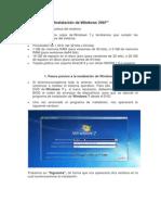 Manual de Windows 2007