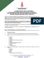 IFE L3 2013 Diploma Syllabus
