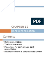 Chapter 12 - Bank Reconciliation